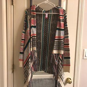 Open Front Sweater - No Boundaries